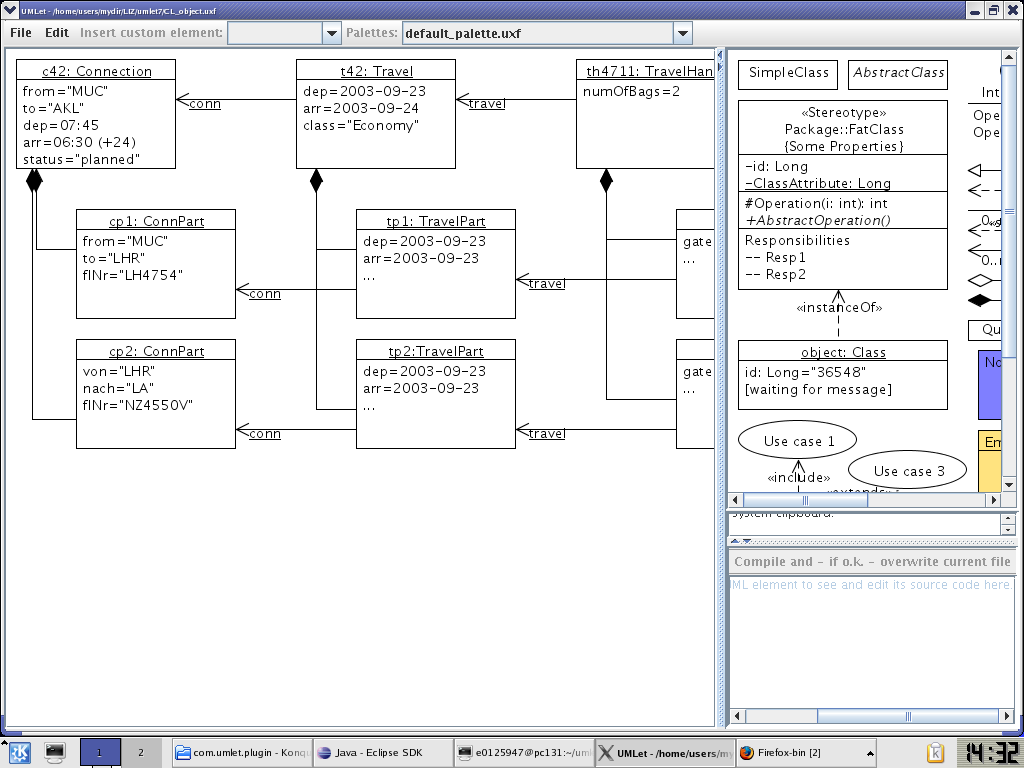 Umlet free uml tool for fast uml diagrams flash jet tags free freeware uml umlet pooptronica